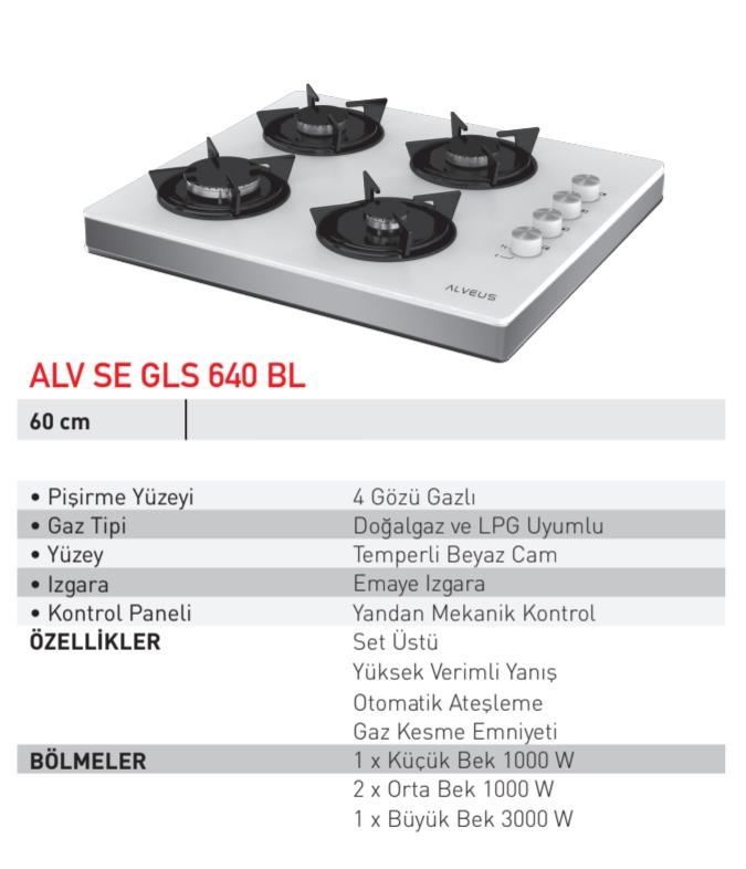 Alveus ALV SE GLS 640 OCAK